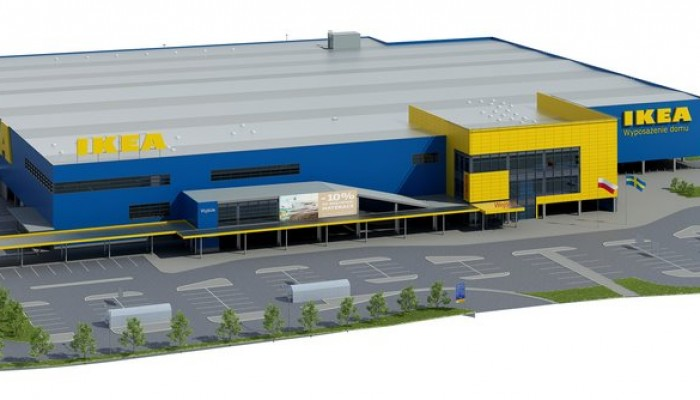 Home our projects shopping centers ikea bydgoszcz for Ikea call center careers